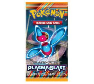 Black and White Plasma Blast Booster Pack