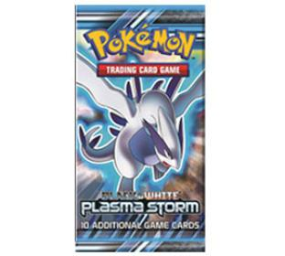 Black and White Plasma Storm Booster Pack