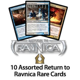 10 Assorted Return to Ravnica Rare Cards