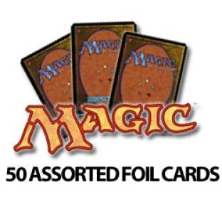 Magic the Gathering - 50 Assorted Foils - Grab Bag