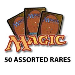 Magic the Gathering - 50 Assorted Rares - Grab Bag