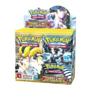 Black and White Next Destinies Booster Box