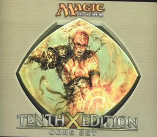 Magic the Gathering White Story Circle Mouse Pad