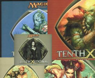 Magic the Gathering Set of all 5 Color Mousepads