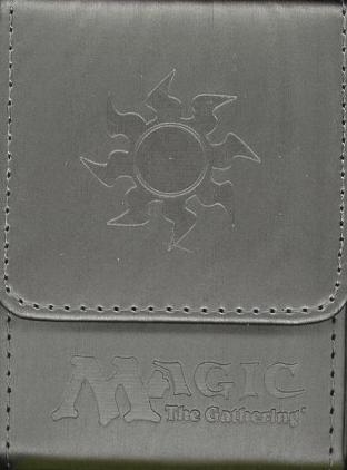 Max Ion Magic the Gathering White Mana Symbol Deck Box