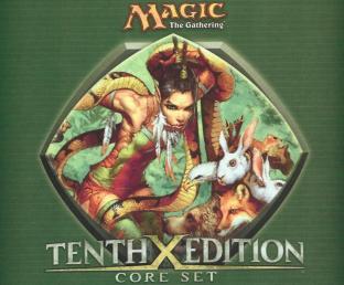 Magic the Gathering Green Gaeas Herald Mouse Pad