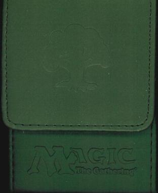Max Ion Magic the Gathering Green Mana Symbol Deck Box