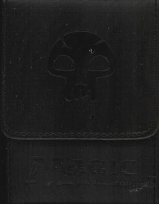 Max Ion Magic the Gathering Black Mana Symbol Deck Box