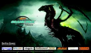 Grand Prix Toronto Skithiryx Limited Edition Playmat