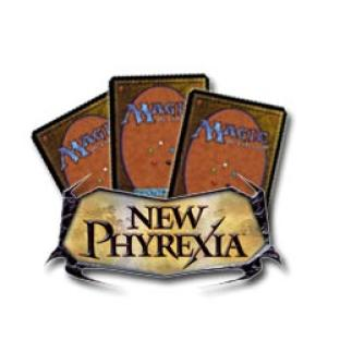 10 Assorted New Phyrexia Rare Cards
