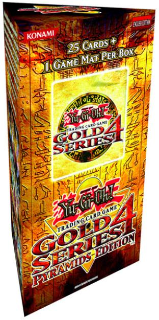 Gold Series 4 Booster Pack (25 Cards and Play Mat)