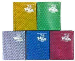 2-Pocket Monster Binders - Set of Five