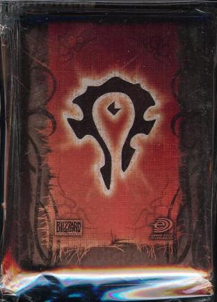World of Warcraft CCG Official Pack of 75 Horde Sleeves