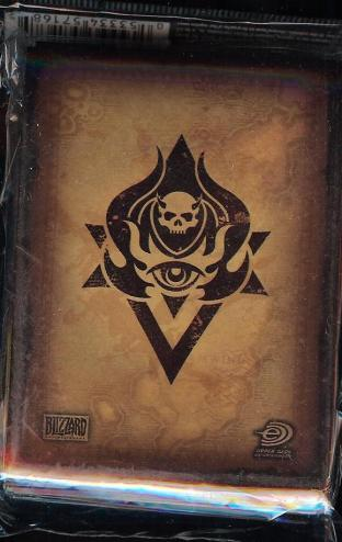 World of Warcraft CCG Official Pack of 75 Neutral Sleeves