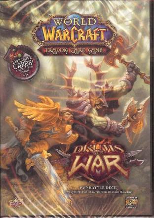 World of Warcraft TCG Drums of War Starter Deck