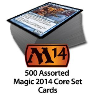 500 Assorted Magic 2014 Core Set Cards (Preorder 07/19/13)