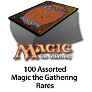 100 Assorted Magic the Gathering Rare Cards