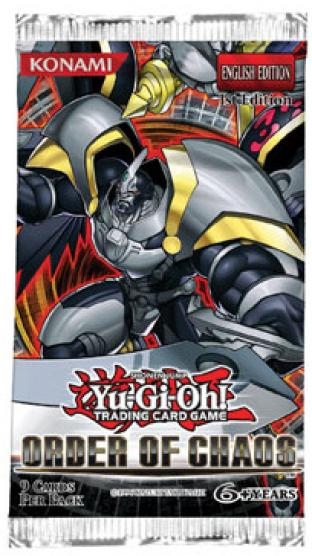 Order of Chaos Booster Pack - Yugioh Zexal