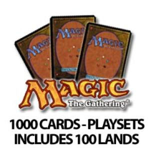 1000 Magic the Gathering Cards Commons and Uncommons