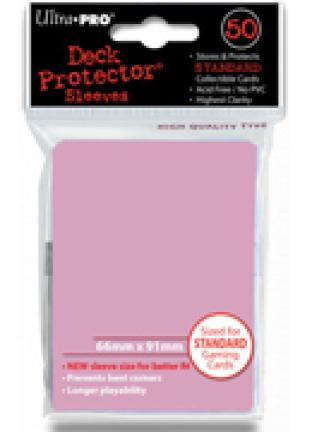 Ultra Pro - Pink - Pack of 50 Sleeves - Standard Size