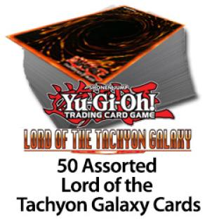 50 Assorted Lord of Tachyon Galaxy Cards