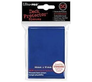 Ultra Pro - Blue - Pack of 50 Sleeves - Standard Size