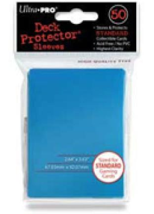 Ultra Pro - Light Blue - Pack of 50 Sleeves - Standard Size