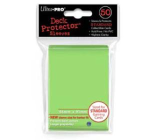 Ultra Pro - Lime Green - Pack of 50 Sleeves - Standard Size