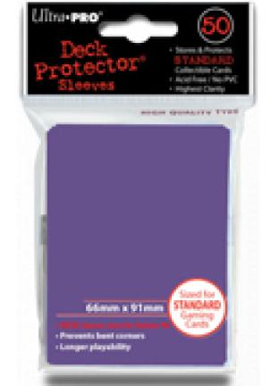 Ultra Pro - Purple - Pack of 50 Sleeves - Standard Size