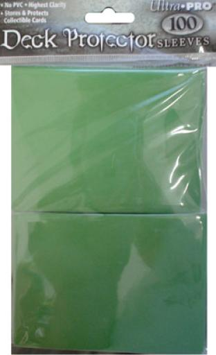 Ultra Pro - Green - Pack of 100 Sleeves