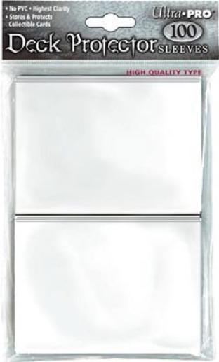 Ultra Pro - Standard Card Sleeves - White (100 Count)