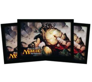 Dragon's Maze Standard Card Sleeves (80ct) - Gruul