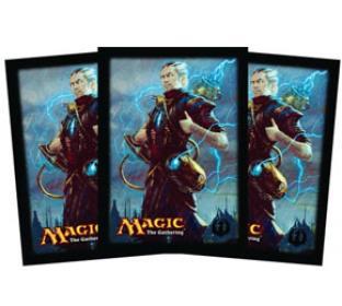Dragon's Maze Standard Card Sleeves (80ct) - Izzet