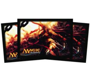 Dragon's Maze Standard Card Sleeves (80ct) - Rakdos