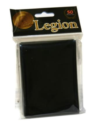 Legion Black Standard Sized 50 ct Sleeves