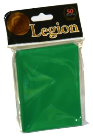Legion Green Standard Sized 50 ct Sleeves