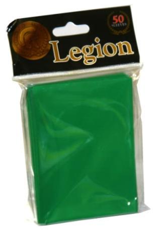 Legion Green Standard Sized 50 ct Sleeves