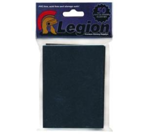 Legion Matte Black Standard Sized Sleeves 50 ct