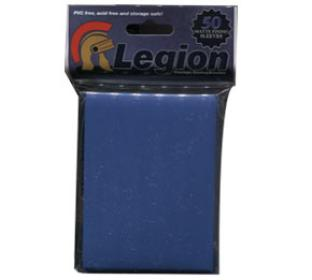 Legion Matte Blue Standard Sized Sleeves 50 ct