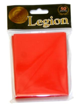 Legion Red Standard Sized 50 ct Sleeves