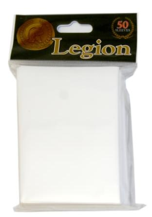 Legion White Standard Sized 50 ct Sleeves