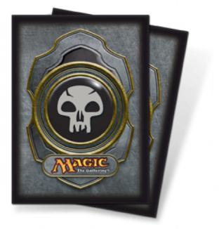 Ultra Pro - Mana Symbol Card Sleeves - Black Mana (80 Count)