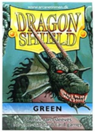 Dragon Shield Box of 100 in Green - Standard Sized
