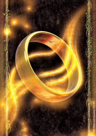 Fantasy Flight - Lord of the Rings Sleeves - The One Ring (50 Count)