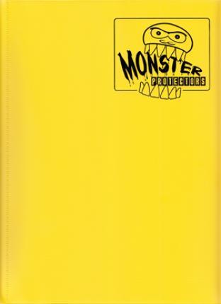 9 Pocket Monster Binder - Yellow