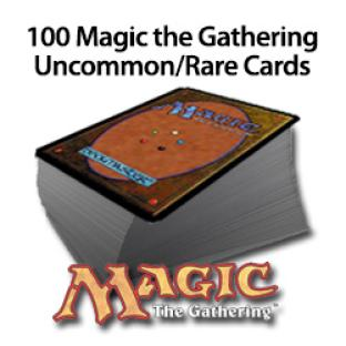 Magic the Gathering - 100 Rare/Uncommon Cards