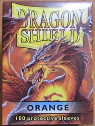 Dragon Shield Box of 100 in Orange
