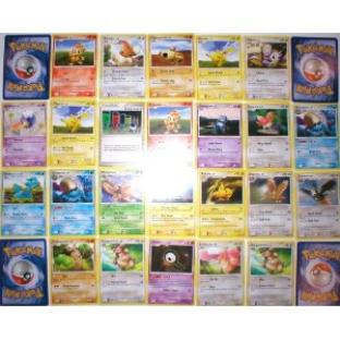 110 Assorted Collectible Pokemon Card Party Favors