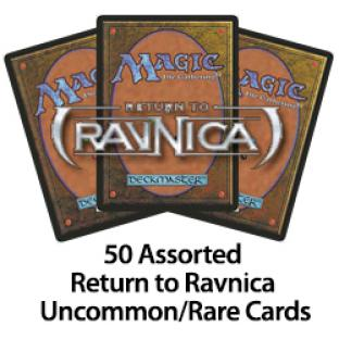50 Assorted Return to Ravnica Uncommons/Rares Cards