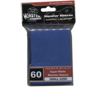 Monster Yugioh Sized Sleeves 60ct - Super Matte Blue